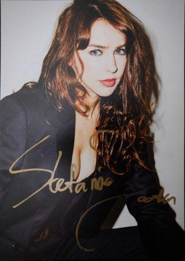 Stefanie Joosten Signed Card
