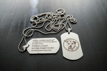Military tag necklace Mickymactroy